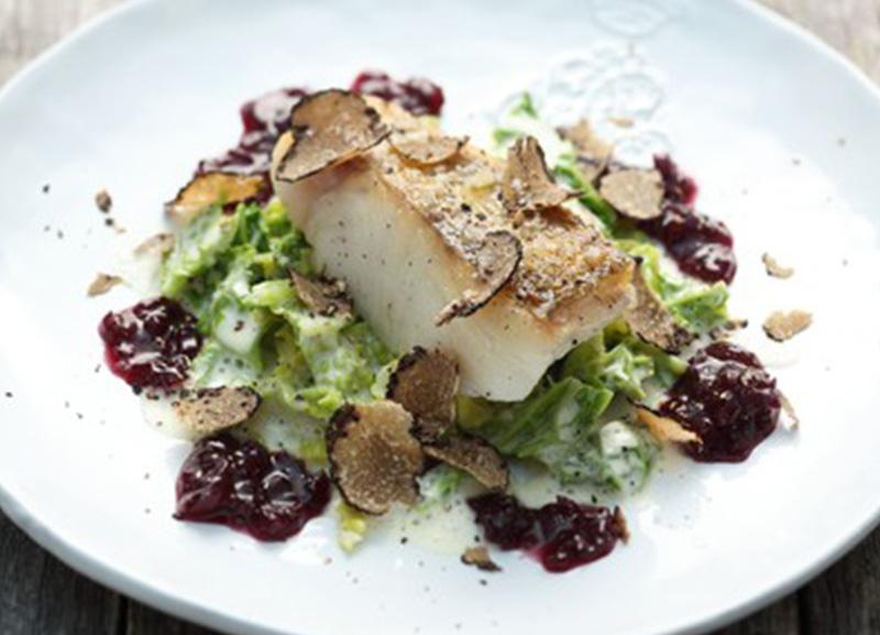 Culinarium Restaurant Gericht Zander