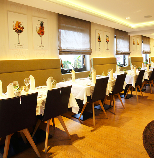 Weingut Dostert Culinarium - Restaurant Tische
