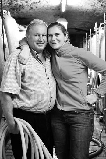Weingut Matthias Dostert - Vater und Tochter Curman